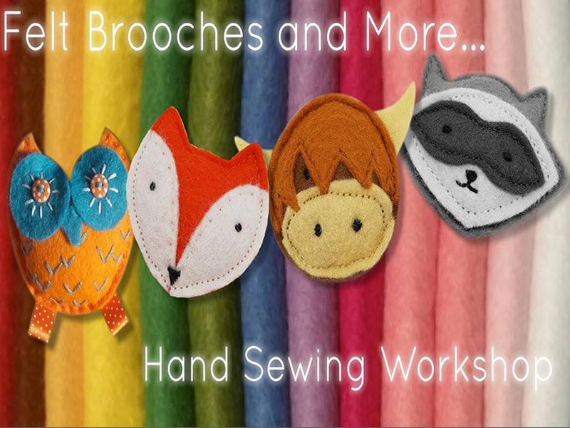 Felt Brooches and More