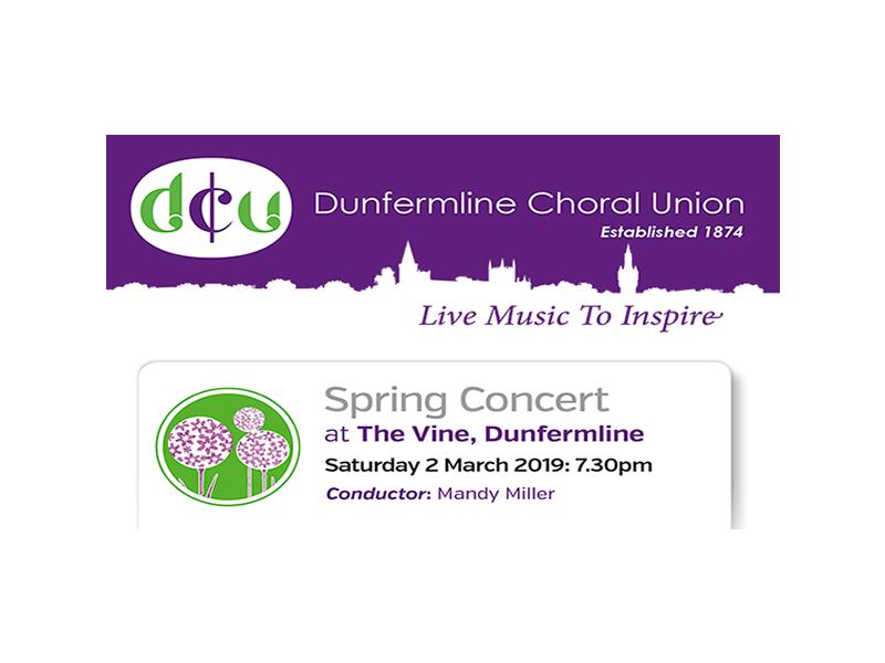 Dunfermline Choral Union Spring Concert