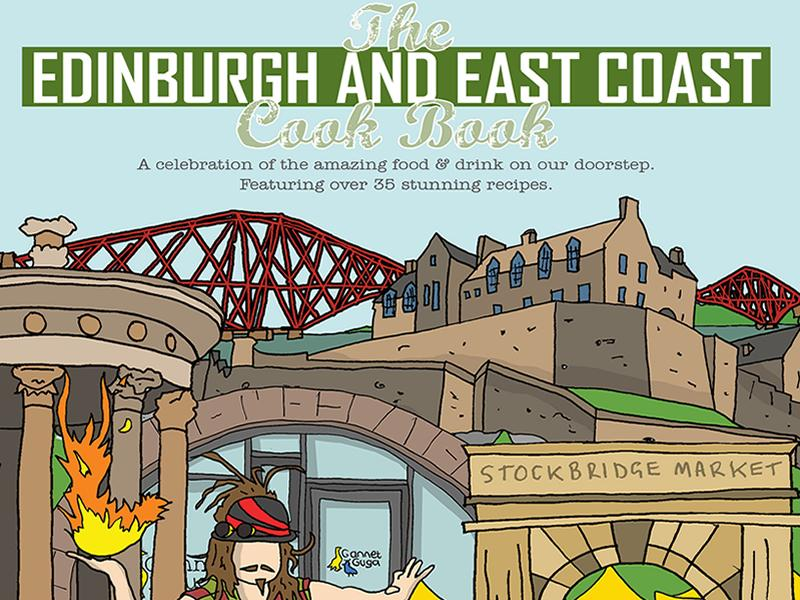 The Edinburgh and East Coast Cook Book launches