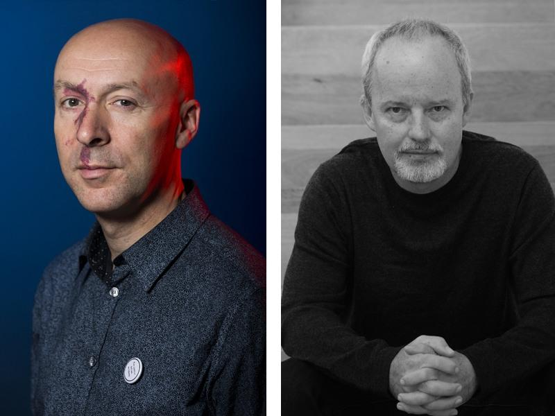Bloody Scotland: Chris Brookmyre and Michael Robotham