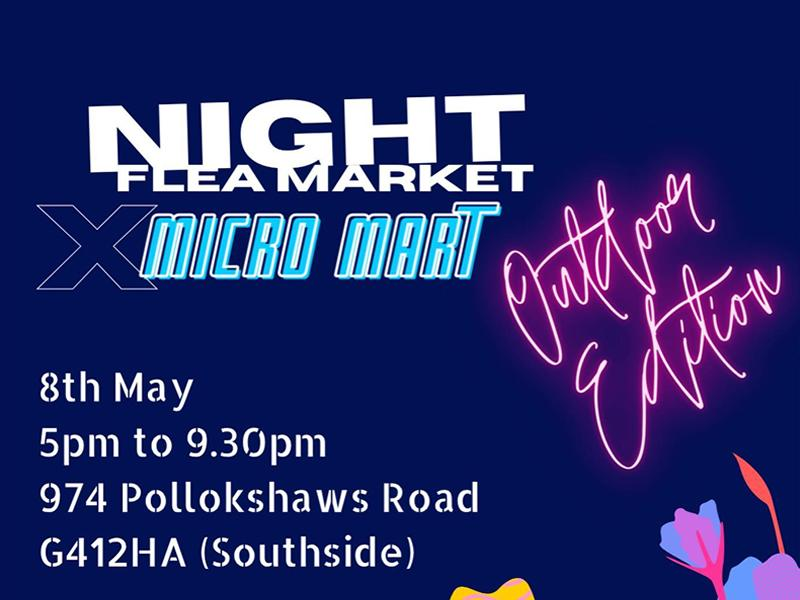 Night Flea Market x Micro Mart