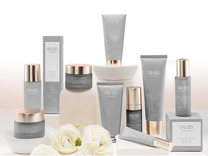 Vegan beauty experts INIKA Organic launch their new Skincare range