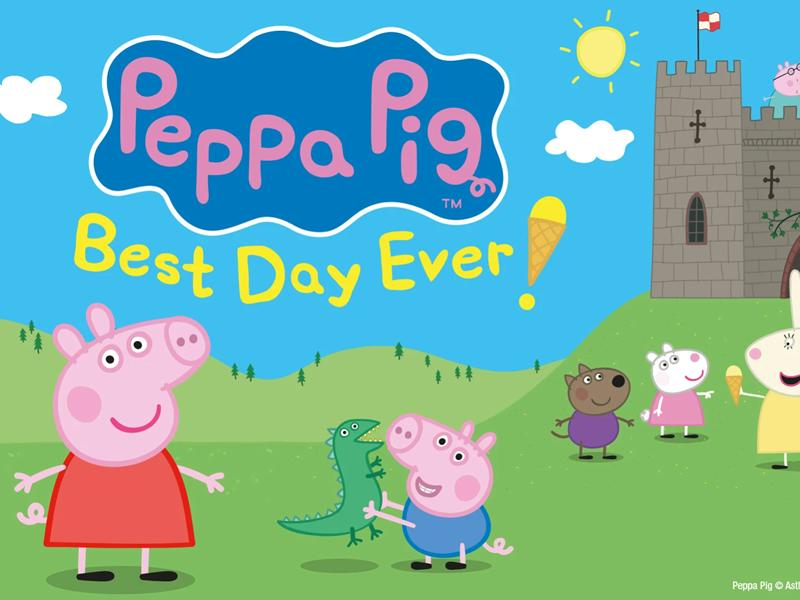 Peppa Pig's Best Day Ever - SUSPENDED