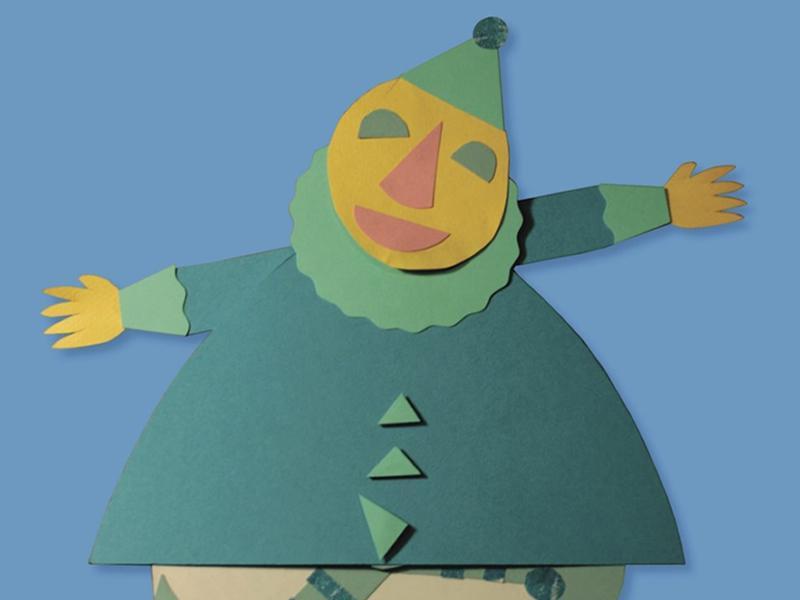 Wibble-Wobble Clown Puppet Workshop
