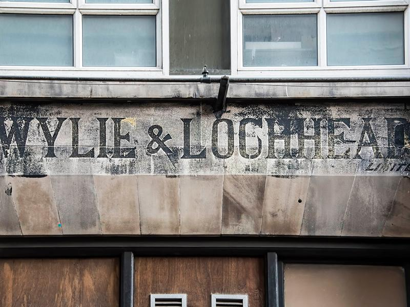 Ghost Signs of Glasgow Exhibition