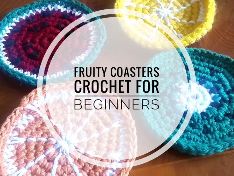 Fruity Coasters Crochet For Beginners