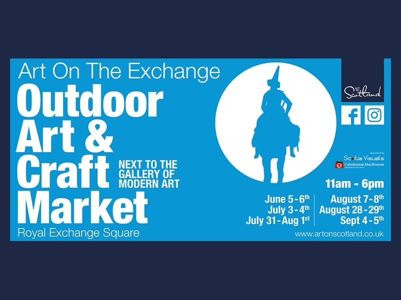 Art On the Exchange Outdoor Markets