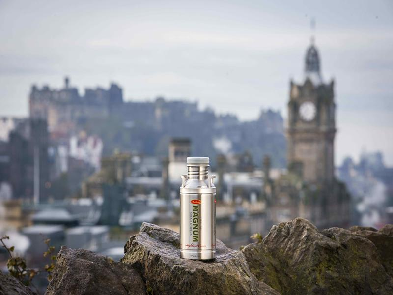 Scotch liqueur crowned king of the castle in Edinburgh