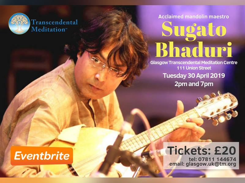 Indian Classical Music Concert, Glasgow City Centre | What's On Glasgow