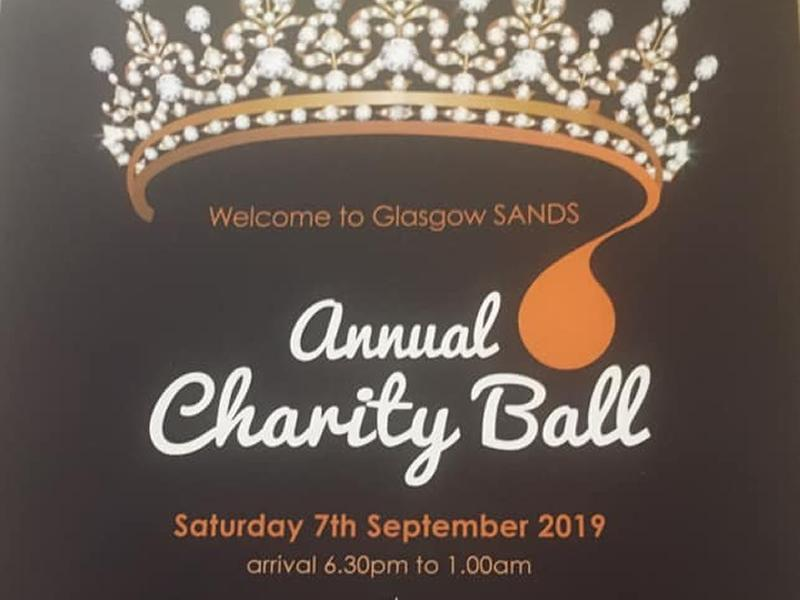 SANDS Glasgow Teardrops and Tiaras Charity Ball