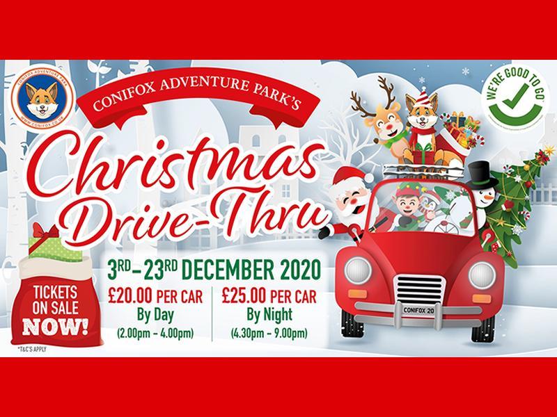 Christmas Drive-Thru Experience at Conifox