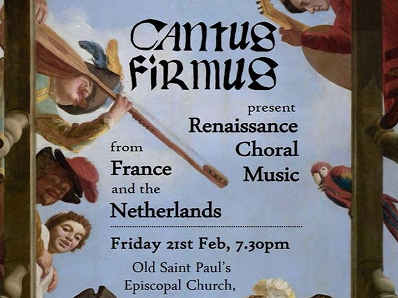 Renaissance Choral Music from France and the Netherlands