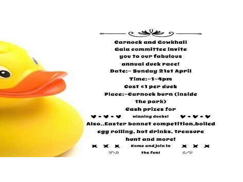 Easter Duck Race