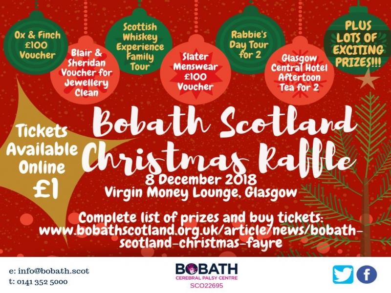 Bobath Scotland Christmas Fayre