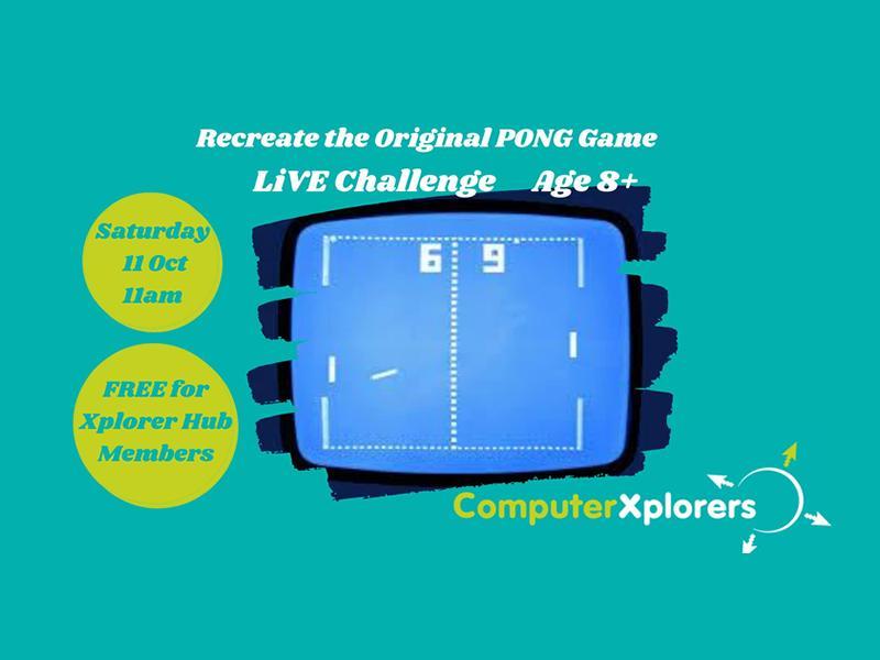 Recreate the Original PONG Game