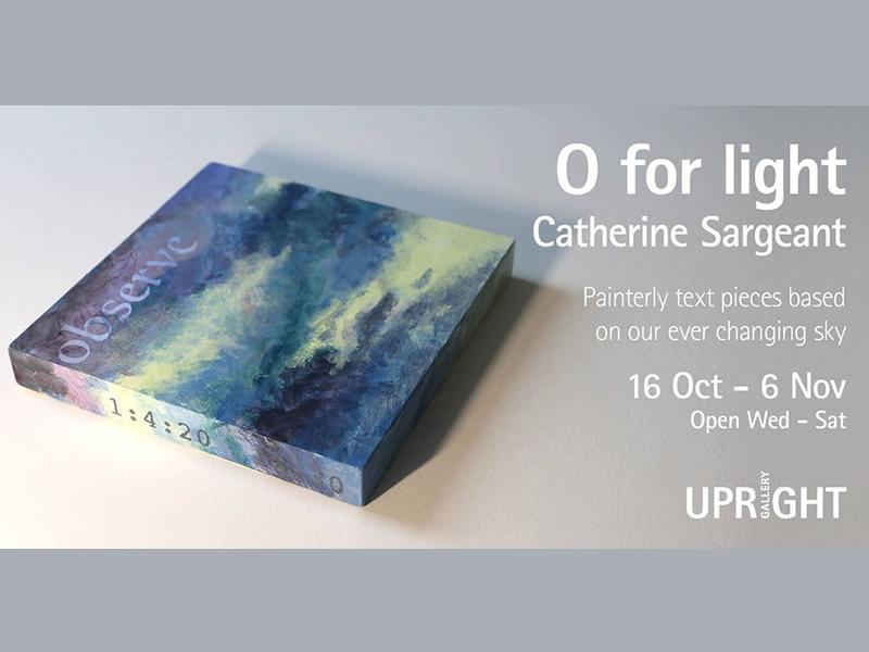 O for Light by Catherine Sargeant