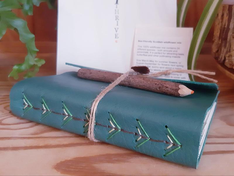 Botanical Bookbinding