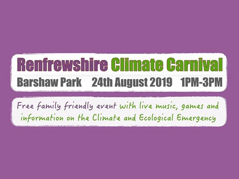 Renfrewshire Climate Carnival