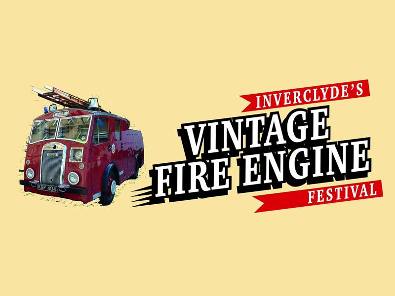 Inverclyde's Vintage Fire Engine Festival