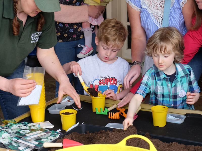 Kids go potty as new season of gardening club gets going