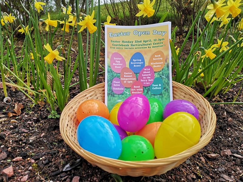 Families invited for cracking Easter Fun at Castlebank Horticultural Centre