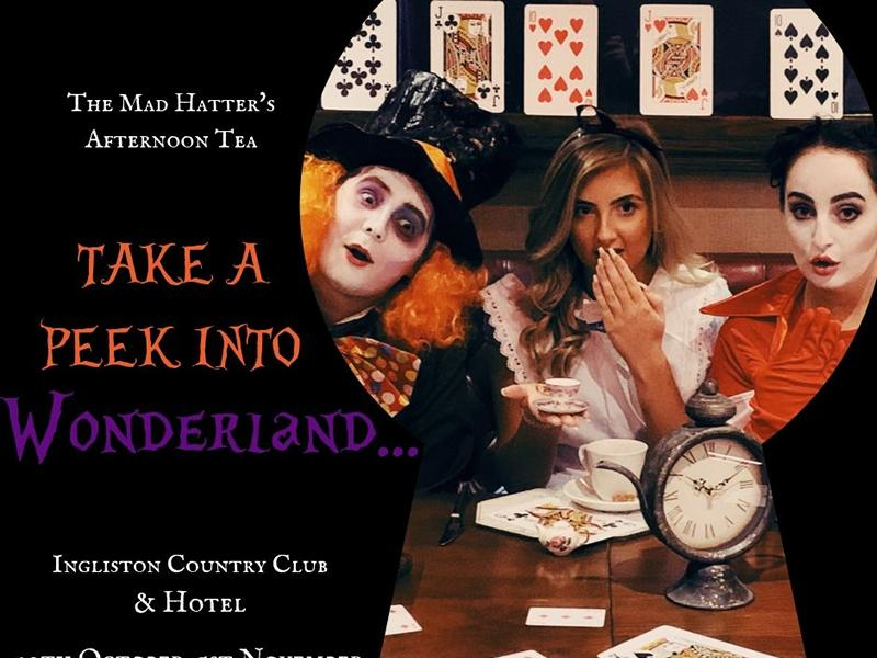 Mad Hatter S Afternoon Tea At Ingliston Country Club And