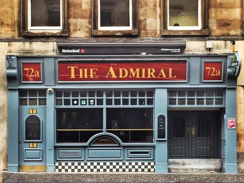 The Admiral Bar Glasgow City Centre Whats On Glasgow