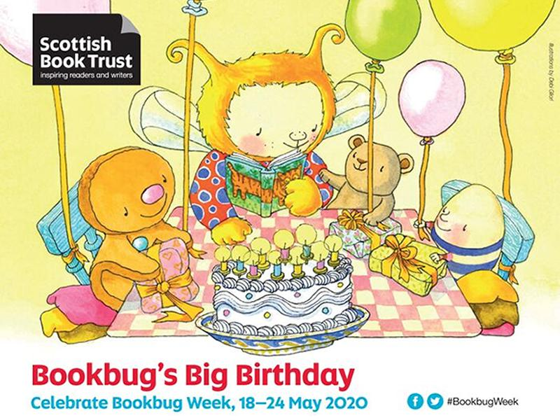 Scottish Book Trust launch online celebrations for Bookbug Week