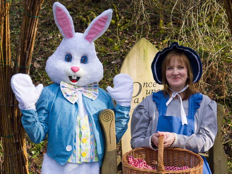 New Lanark Easter Bunny Experience