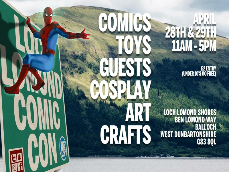 Comic Con returns to Loch Lomond
