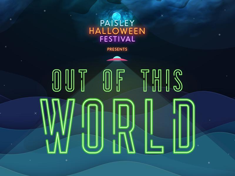 Paisley Halloween celebrations will be out of this world!