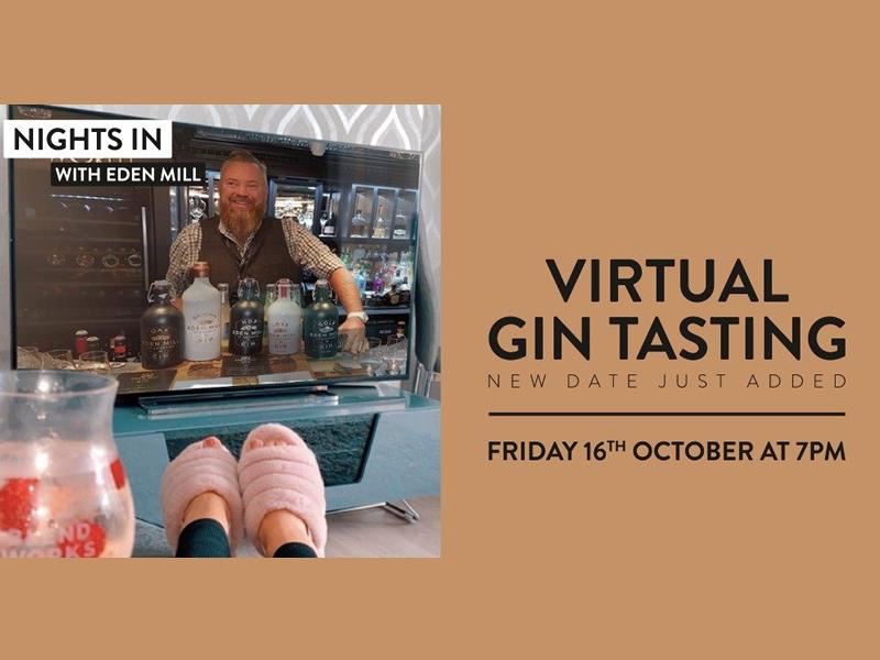 Eden Mill St Andrews: Virtual Gin Tasting Experience