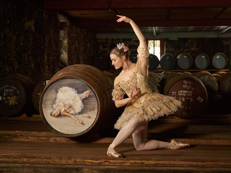 Scottish Ballet announces The Sleeping Beauty cask of Royal Lochnagar whisky
