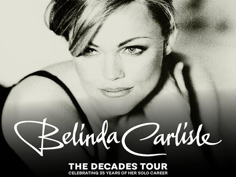 Belinda Carlisle - The Decades Tour