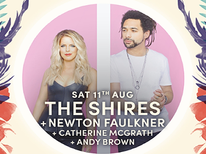 Edinburgh Summer Sessions have announced The Shires as headliners for 11th August.