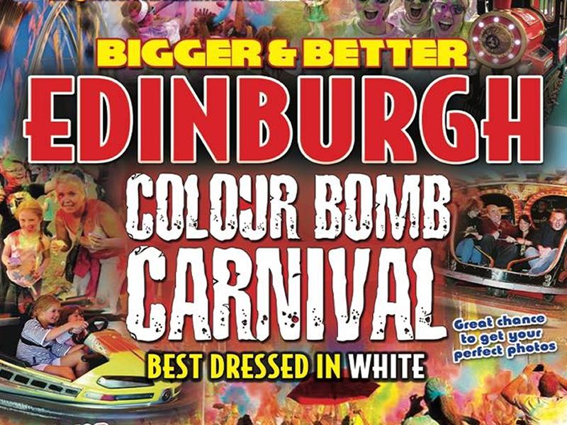 Edinburgh Colour Bomb Carnival