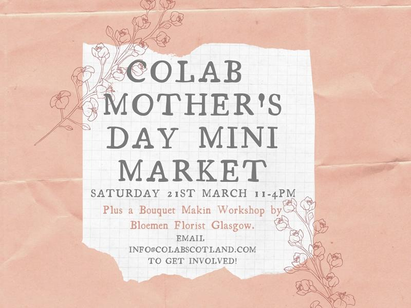 COLAB Mother's Day Mini Market