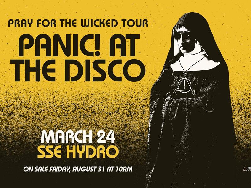 a5c7552e Panic! at the Disco at The SSE Hydro, Glasgow City Centre | What's ...