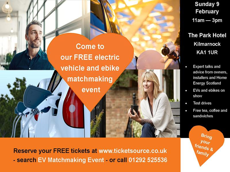 Electric Vehicle and Ebike Matchmaking Event