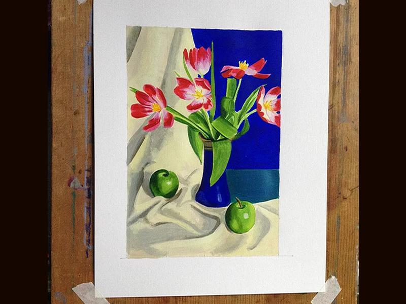Still Life and Flower Painting: Weekend Course November