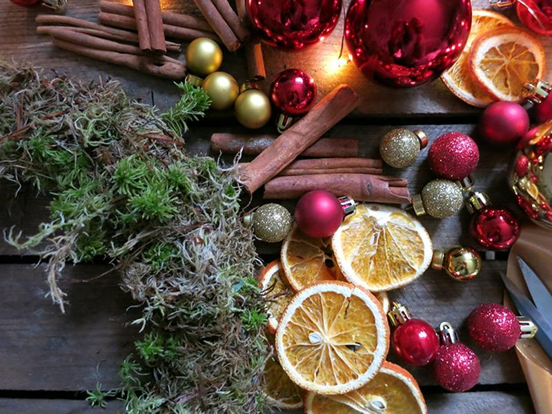 Festive Wreath Workshop x Wine and Cheese