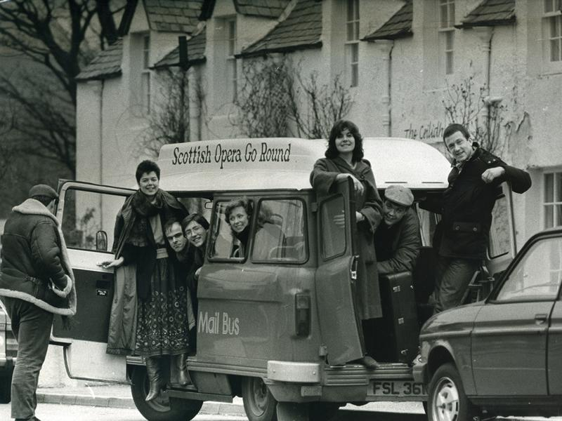 Scottish Opera celebrates 50 years of pioneering Outreach and Education work