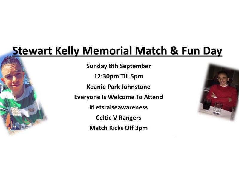 Stewart Kelly Memorial Match & Fun Day