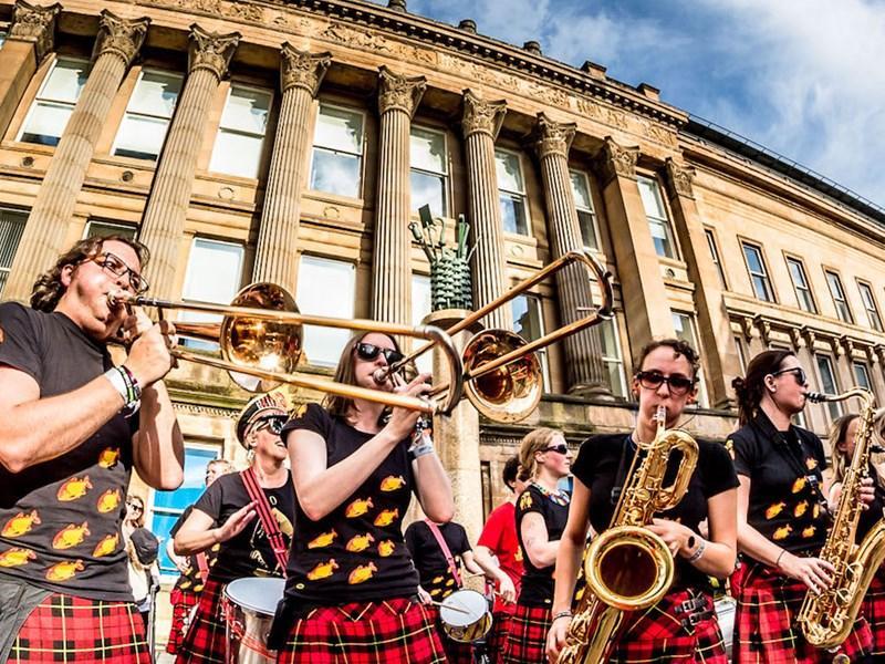 The Encontro Street Band Festival