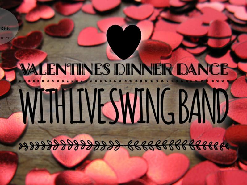 Valentines Dinner Dance with Swing Band