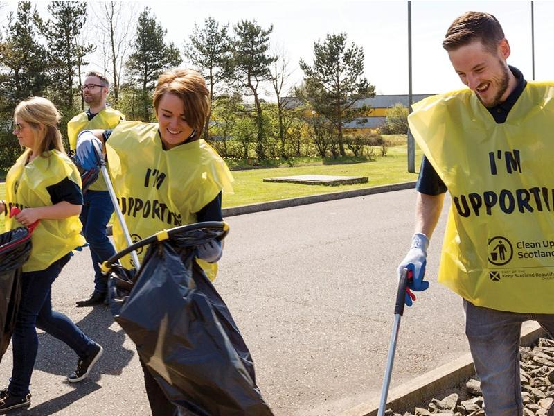 West Lothian supports Great British Clean up