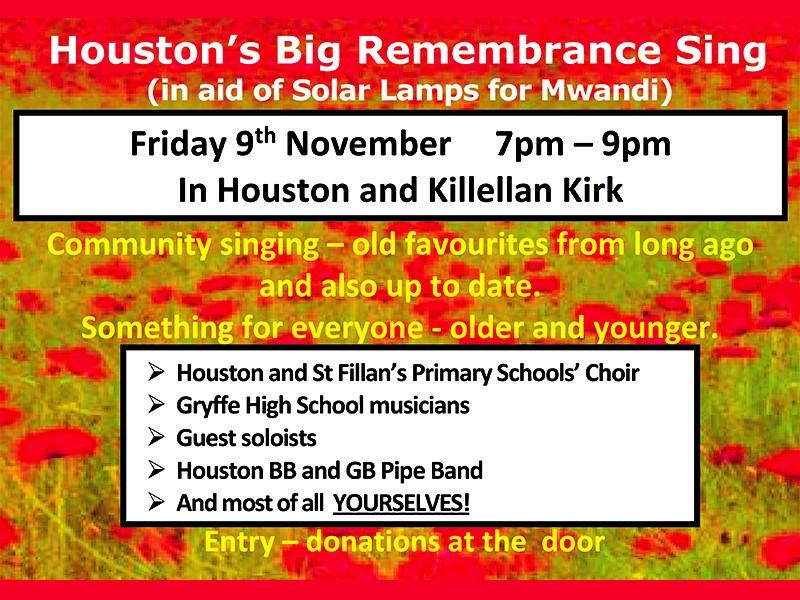 The Big Remembrance Sing