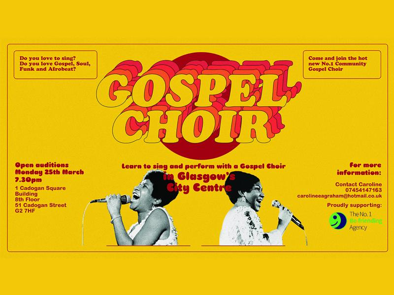 Open Audition for The No.1 Community Gospel Choir