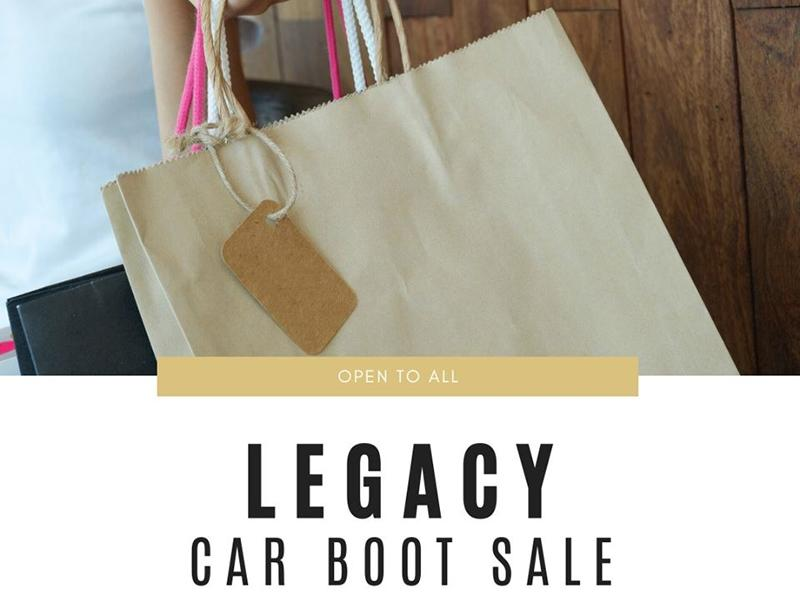 Legacy Car Boot Sale - CANCELLED
