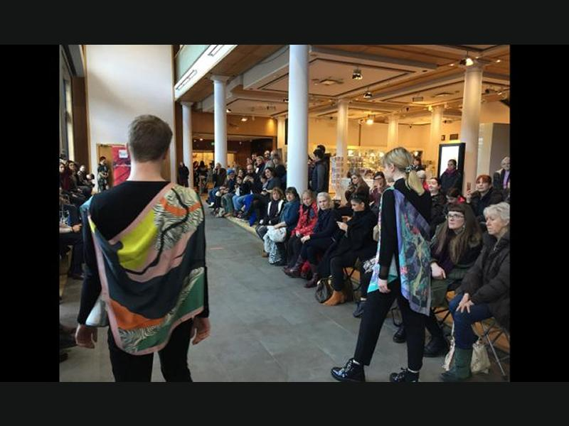 Fashion Show at the City Art Centre
